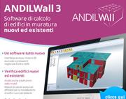 Scopri il software di calcolo di edifici in muratura ANDILWall in Offerta fino al 30 Aprile