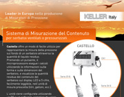 Sistema di Misurazione del Contenuto per serbatoi ventilati o pressurizzati