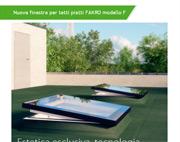 Nuova finestra per tetti piatti FAKRO