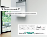 L'innovazione Vaillant è nuovamente premiata con recoVAIR