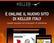 Visita il nuovo sito di Keller Italy, leader europeo nei misuratori di pressione