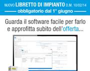 Nuovo Libretto Impianto obbligatorio dal 1° giugno: ecco il software ACCA in offerta