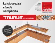 Taurus, il sistema brevettato per le zone sismiche