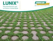 Lunix: la pavimentazione si circonda di verde