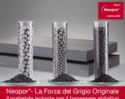 Neopor® – La Forza del Grigio Originale. Il materiale isolante per il benessere abitativo