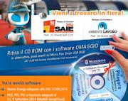 Vieni a ritirare i tuoi software omaggio al SAIE