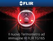 FLIR Systems presenta il nuovo termometro ad immagine IR FLIR TG165
