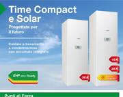 Le nuove caldaie Time Compact e Time Solar, progettate per il futuro