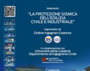 Protezione sismica: seminario Bossong a Cosenza