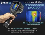 FLIR E8: Incredibile prezzo promozionale