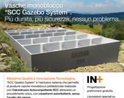 """Vasche in Calcestruzzo Autocompattante """"SCC Gazebo System"""""""