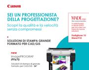 SCOPRI LA QUALITA' E VELOCITA' SENZA COMPROMESSI con le novità Canon per CAD/GIS