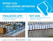 Nodo antisismico e barriera impermeabilizzante Peter Cox: soluzioni definitive
