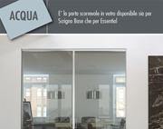 Acqua, porta vetro Scrigno
