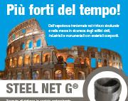 STEEL NET G Più Forti del tempo – Rinforzo Murature