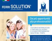 Ferri Solution: intonacatura su misura collaudata e assicurata