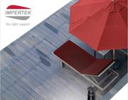 IMPERTEK, il supporto giusto per pavimentazioni esterne e decking