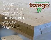 Sistema costruttivo in legno senza colle