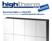 Altissimo isolamento termico, scopri HIGHTHERM 030!