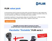 FLIR value pack – approfitta delle offerte esclusive e scopri la termografia