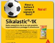 Sikalastic-1K impermeabilizza e protegge il calcestruzzo in un'unica azione!
