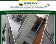 La nuova serratura Breda per un portone sezionale ancora più sicuro