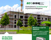 Ecosism realizza in social housing