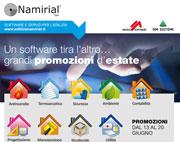 Edilizia Namirial: grandi promozioni d'estate su tutti i software