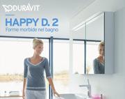 Happy D. 2 di Duravit: nuova eleganza nel bagno