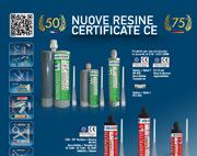 Resine certificate CE di Bossong