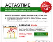 ACTASTIME: il software per la redazione delle perizie di stime degli immobili