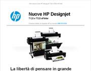 Nuove stampanti per grandi formati HP Designjet T120 e HP Designjet T520 ePrinter!