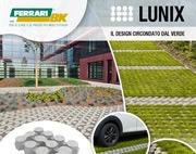 LUNIX: l'innovativa pavimentazione drenante di design!