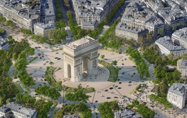 L'Arco di Trionfo a Parigi