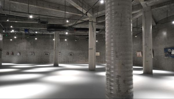 L'Area espositiva del Ningbo Duao Art Museum