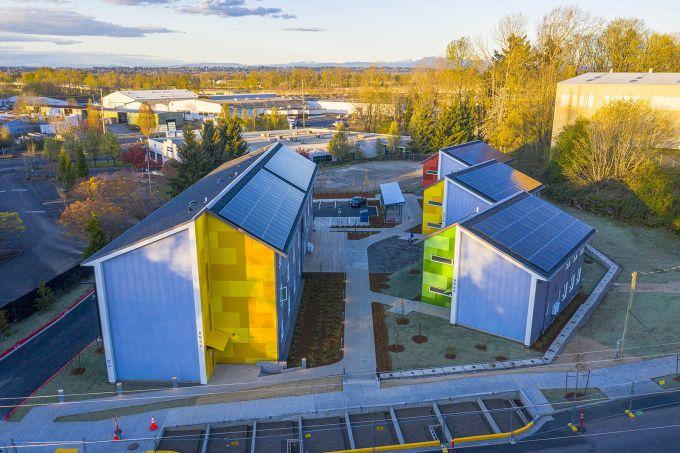 Argyle Gardens: gli alloggi di transizione modulari e accessibili