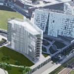 Nuovo edificio ad Assago-Milanofiori nord