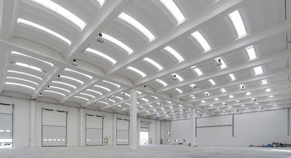 B2000, sistema di copertura per edifici a grandi maglie strutturali