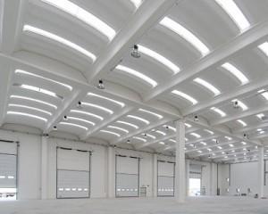 Copertura B2000 per edifici agrandi maglie strutturali
