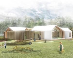 Inaugurato l'asilo nido in legno a Milano