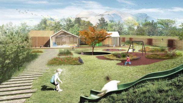 Inaugurato l'asilo nido in legno a Milano Babylife