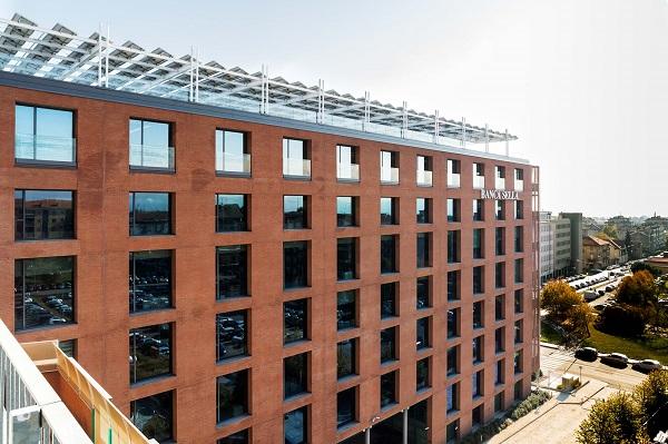 Edificio della Banca Sella di Biella