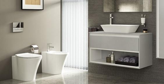 Un bagno di Ideal Standard