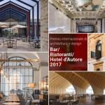 Cerimonia di premiazione del Premio 'Bar Ristoranti Hotel d'Autore 2017'