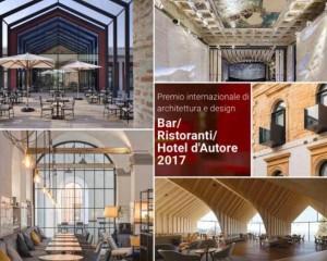 Cerimonia di premiazione del Premio 'Bar Ristoranti Hotel d'Autore 2017′