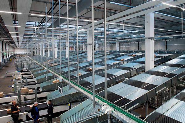 Baraclit firma il nuovo centro logistico della Posta in Svizzera