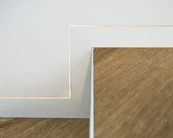 battiscopa filomuro Eclisse: minimalismo e design