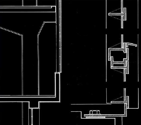 Bauhaus - Dessau, 1925, sezione verticale