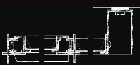 Bauhaus Dessau, sezione orizzontale