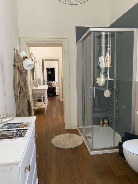 Bauwerk - pavimento Studiopark Master Edition applicato in bagno